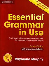 Cambridge ESSENTIAL GRAMMAR IN USE w Answers &Online FOURTH Edition R Murphy NEW
