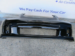HOLDEN COMMODORE VE SS SERIES 1 FRONT BUMPER BAR PAINTED BLACK PC:690F