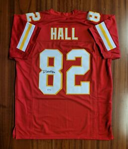 Dante Hall Signed Autographed Jersey Kansas City Chiefs PSA DNA
