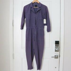 Women's Volcom Summer 2015 Stand Up Purple Pigment Dyed Jumpsuit - Size Small