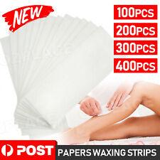 100/200/400x Strip Wax Strips Non Woven Disposable Hair Removal Waxing