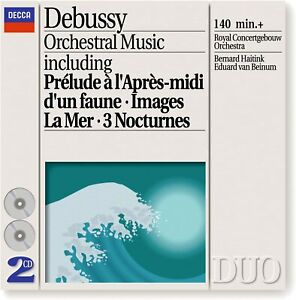 Claude Debussy - Debussy: Orchestral Music (1993) 2 cd