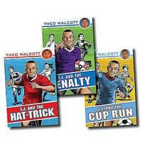 Theo Walcott Collection 3 Books Set (T.J.) Football Series Pack Arsenal Team