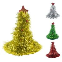 Christmas Tree Hat on Headband Christmas Xmas Party Santa Fancy Dress Costu Q9Y7