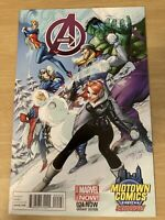 Avengers #24.NOW Marvel Now 2014 J Scott Campbell Snow Midtown Exclusive Variant