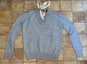 Joseph 100% Cashmere Ladies Grey Jumper, Size XS, Excellent Condition