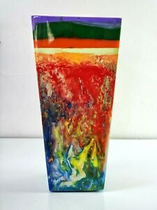 Sobral Objectos Poeticos Multi Color Large Vase Pollock Brazil Import