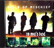 SOULS OF MISCHIEF- No Man's Land- 1995 Hip Hop CD- Pep Love/Funkee Homosapien