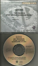 GUESSS My reason for loving someone else w/ RARE EDIT PROMO DJ CD single  Guess