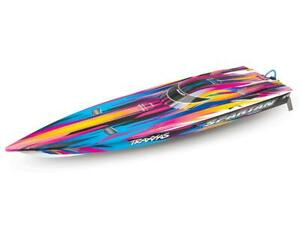 Traxxas Spartan High Performance Race Boat RTR (Pink) [TRA57076-4-PINK]