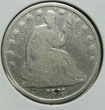 1878  50C Liberty Seated Half Dollar