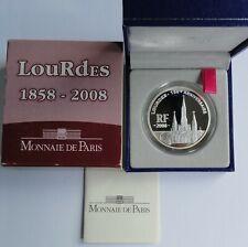 1,5 Euro LOURDES 2008 Francja France Frankreich PP PROOF Silver