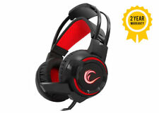 Rampage 3.5mm Gaming Headphone Headset Mic LED for PC Mac Laptop PS4 XBox One