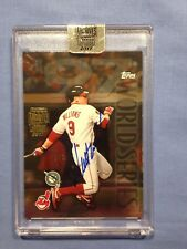 2017 Topps Archives Signature Series Matt Williams 1997 Topps Auto 1/1