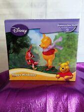 Disney 2007 Happy Winsday  Winnie the Pooh figurine .