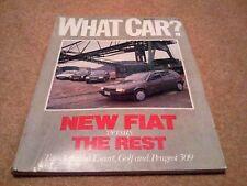 WHAT CAR? MAGAZINE MAR-1988 - Porsche 944, Jaguar XJS, Fiat Tipo, VW Golf, Civic