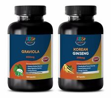 weight loss essential oil - GRAVIOLA – KOREAN GINSENG COMBO 2B - red ginseng roo