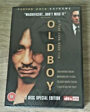 OLDBOY (DVD, 2005, 2-Disc Set) BNIW NEW SEALED GIFT PRESENT FILM