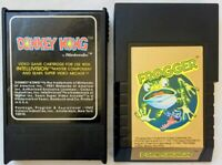 """Donkey Kong"" & ""Frogger"" Vintage Intellivision Game Cartridges Lot Of 2"