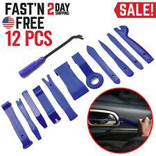 12X Car Trim Removal Tool Kit Set Plastic Interior Door Panel Auto Dashboard