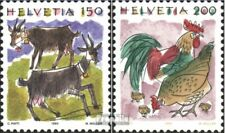 Switzerland 1531-1532 (complete issue) FDC 1994 clear brands