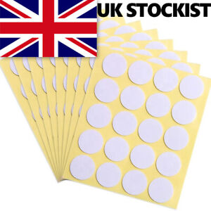 100 x Double-sided Adhesive Wick Foam Stickers Glue Dots Candle Making UK SELLER