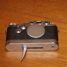 Leica IIIf 35mm film camera 696115 RED DIAL DA CHROME 1954 LEICAVIT rapid winder