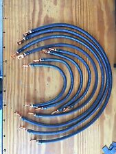Club Car Precedent 48V 2 Gauge #2 Welding Wire Battery Cable HD Lugs set 4x12V