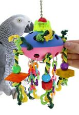 1682 Spaceship Bird Toy cage toys cages cockatiels parrot african grey amazon