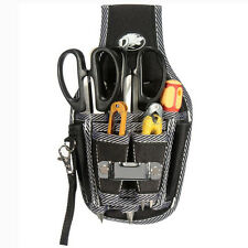 Electrician Waist Pockets Tool Belt Pouch Bag Screwdrivers Utility Kit Bags FO
