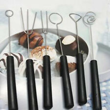 6x DIY Decorating Tool Candy Caker Fruit Chocolate Dipping Fork Fondue Barbecue