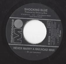 SHOCKING BLUE 1970 :  Never marry a Railroad Man / + Roll Engine Roll - Vinyl
