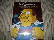 DVD PACK LOS SIMPSON 12ª TEMPORADA 4 DISCOS 25 EPISODIOS NUEVO PRECINTADO