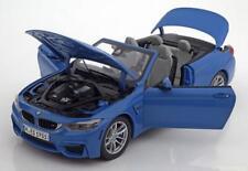 Original BMW M4 Cabriolet F83 Maquette de Voiture/miniature Maßstab 1 18 Yas