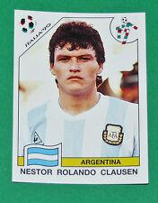 N°118 CLAUSEN ARGENTINA PANINI COUPE MONDE FOOTBALL ITALIA 90 1990 WC WM