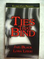 Ties that Bind Jaid Black Lora Leigh Ellora's Cave 1843606194 B63