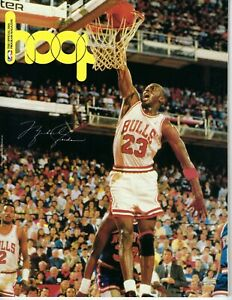 1989 Hoop NBA Basketball magazine, Michael Jordan Chicago Bulls