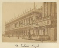 Venezia Palais Ducale Italia Vintage Albumina Ca 1875
