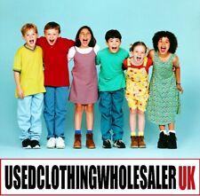 100 GRADE A SECOND HAND CHILDREN'S USED CLOTHES UK JOB LOT WHOLESALE KIDS BUNDLE