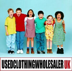 100 GRADE A CHILDREN'S CLOTHING MIXED STYLES JOB LOT WHOLESALE KIDS BUNDLE 0-16Y