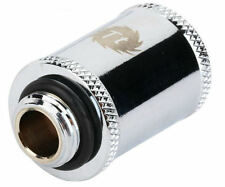 Thermaltake G1/4 30 MM Chrome Extender/Connector (F to M), CL-W047-CU00SL-A