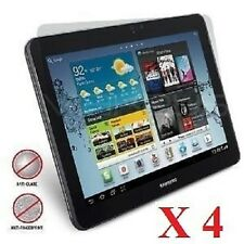 4 X Samsung Galaxy Tab 2 10.1 P5100 Frontal Lcd Protector De Pantalla cubierta Película