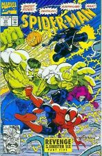 SPIDERMAN # 22 (Erik Larsen, guest: Hulk, Ghost Rider) (USA, 1992)