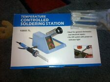 1 New Variable Temperature Soldering Station With 5 Solder Tips 15860TL-OLC98-5T