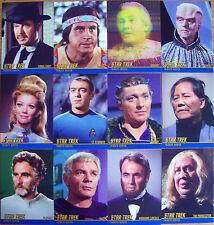 Star Trek TOS Heroes & Villains Tribute Chase Set