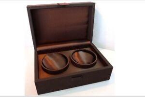 FIORIANI Watch Box Case Caja Scatola Boite Estuche Capacity for 2 Watches