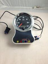 """vdo saxon harley speedometer 3 3/8"""" speedo thunderheart bracket dash indicators"""