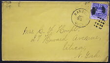 US Cover -  Fancy Cancel Grid on Sc# 114 1869 Pictorial   S1148