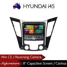 "8"" Car DVD GPS Navigation Head Unit for HYUNDAI i45 2009-2012"