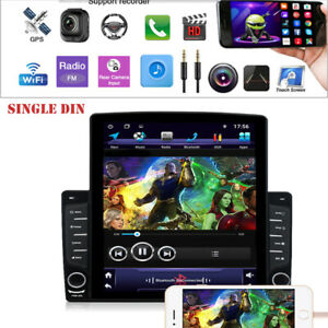 """10.1"""" 1DIN Android 9.1 HD Quad-core 1GB+16GB Car Stereo Radio Player"""